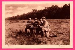 Cavalerie - En Manœuvres - Arme - Fusil - Mitraillette - A. NIEPS - Manoeuvres