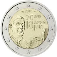 France 2 Euro Comm. 2010 UNC - France