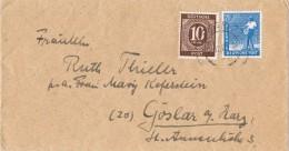 17749. Carta AACHEN (Alemania) Zona Ocupation Anglo American 1947 - Zona Anglo-Américan