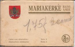 MARIAKERKE - BAINS ..-- Ancien Carnet De 8 Cartes Vues Détachables ( Sur 12 Au Départ !!!!!!) . - Oostende
