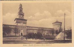 Italy Milano Castello Sforzesco e Torre Umberto I