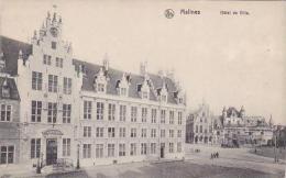Belgium Malines Hotel De Ville - Malines