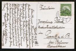 Czechoslovakia / Carpathian Ukraine 1933 Postcard Vylok, Railway TPO # 993 Jasina - Kosice - Covers & Documents