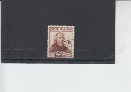 ITALIA  1950 - Sassone  625° -Muratori - Letteratura - 6. 1946-.. Repubblica