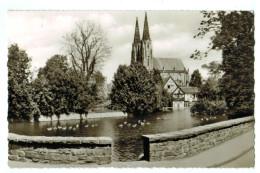 10918 Cpa  SOEST ; Blick Zur Wiesenkirche      Carte Photo 1964 !! - Allemagne