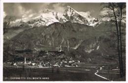 CAPORETTO COL MONTE NERO - 1936 - Trieste
