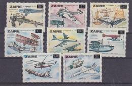 Zaire 1985 60ste Verjaardag Luchtverbinding Sabena Brussel-Kinshasa 8w ** Mnh (29444) - Zaïre
