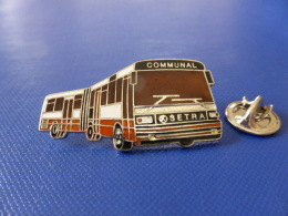 Pin´s Car Autocar Bus - Communal - Setra - Bus Accordéon (JA39) - Transportation