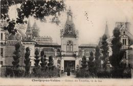 Chevigny En Valière : Le Château Des Tourelles, Vu De Face (Editeur Non Mentionné) - Autres Communes