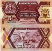 UGANDA       5 Shilingi       P-27       1987       UNC - Uganda