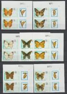 VIET NAM 1989  IMPERF./ NON DENT  BUTTERFLY/PAPILLONS  SCOTT N° 1924/30 **MNH    Réf  E412 - Papillons