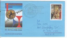 1999 - Aerogramma N. 36 - Postal Stationeries