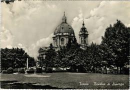 TORINO   BASILICA  DI  SUPERGA     (VIAGGIATA) - Churches