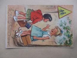 CPA GERMAINE BOURET FANTAISIE - Bouret, Germaine
