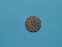 1964 - 10 Dong / KM 8 ( Uncleaned Coin / For Grade, Please See Photo ) !! - Vietnam