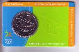 Australia 50 Cent - Melbourne Commonwealth Games (2006) - Shooting (UNC) - Australia