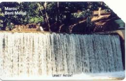 10u Waterfall_NATURE_(white Reverse) NO Adress_MOR-M1 - Marokko