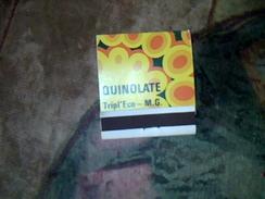 Boite D Alumette  Pleine Publicitaire Protegez Vos Semis Avec Quinolate - Boites D'allumettes
