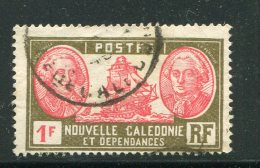 NOUVELLE CALEDONIE- Y&T N°154- Oblitéré - Nouvelle-Calédonie
