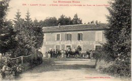 81 LAMPY ( Tarn )  La Montagne Noire .  L' Hôtel GALARD , A L' Entrée Du Parc De LAMPY-VIEUX . - Non Classés