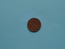 1921 - 2 ORE / KM 813.2 ( Uncleaned Coin / For Grade, Please See Photo ) !! - Danimarca