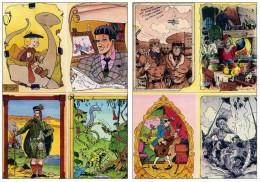 Arnaud Floch - Hommage Franquin Peyo Uderzo Margerin Jacobs Walthery Graton - Cartes Postales