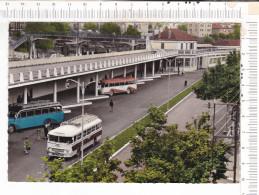 """ALES   -  La  Gare   """"  Route Rail """"   -   Autobus - Alès"""