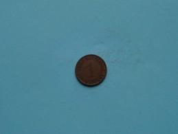 1924 J - 1 Pfennig - KM 30 ( Uncleaned Coin / For Grade, Please See Photo ) !! - [ 3] 1918-1933 : República De Weimar
