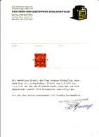 Arbeits - Zeugnis Von Der FA TIOX - Tinten- Und Klebstoffwerk Ges.m.b.H., Wien 1956 - Diplome Und Schulzeugnisse