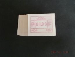 50 X Laag Punt. Roodpaars. Nieuwe Automaten. N/F C Papier. - Vignettes D'affranchissement