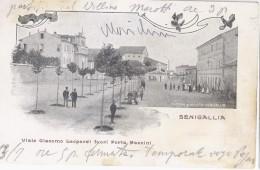 Senigallia (Ancona)1906 Viale Giacomo Leopardi Fuori Porta Mazzini - Italie