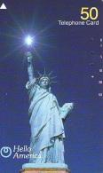 Telecarte JAPON (838) Statue De La Liberte * New York USA * PHONECARD JAPAN * STATUE OF LIBERTY * - Landscapes