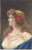 Donna Femme Woman-Moda- Illustrata Liberty 1906 - 1 - Mujeres