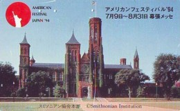 Telecarte JAPON (874) Statue De La Liberte * New York USA * PHONECARD JAPAN * STATUE OF LIBERTY * - Landscapes