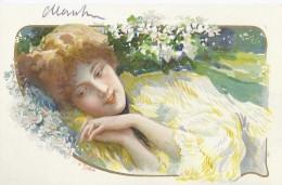 Donna Femme Woman-Moda- Illustrata Liberty 1906 - 2 - Mujeres