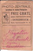 Ca.20 Negative Vom I.Tiroler Kaiserjäger Rgt. In Original Tasche Des Fotografen Fritz Gratl, Innsbruck - 1914-18