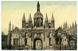 CAMBRIDGE : KING'S COLLEGE - FRONT GATEWAY - Cambridge