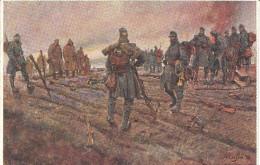 I. Tiroler Kaiserjäger Regiment, - Nach Einem Sturm In Russisch - Polen - Regimente