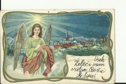 BO164  --    ANGEL  --  WEIHNACHTEN,  PERE NOEL, CHRISTMAS    --  1909 - Natale