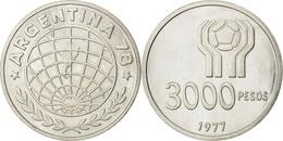 Argentinia 3000 Pesos, 1977 World Soccer Championship - Argentine