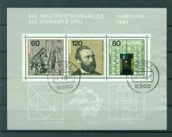 Allemagne -Germany 1984 - Michel Feuillet N. 19 - 25e Anniversaire De La CEPT - [7] République Fédérale