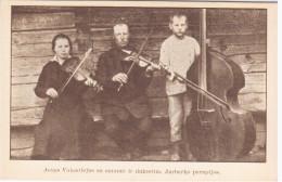 Lithuania Lietuva, Jonas Valantiejus, Jurbarkas Music Musique Violin - Lithuania
