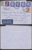 AB607 Lettre De Bruxelles à New York USA 1946 - Belgique