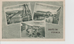 Card Cartolina Saluti Da Formia Non Viaggiata - Italia