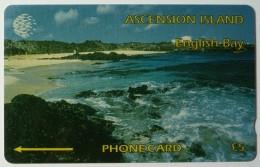 ASCENSION ISLANDS - GPT - £5 - 6CASA - English Bay - Used
