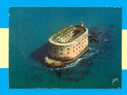 CPM  FRANCE  17  ~  ILE D'AIX  ~  6257  Fort Boyard, Photo Aérienne Alain Perceval  ( Yvon 1968 ) - France