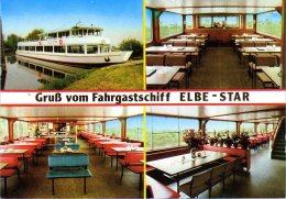 Hitzacker - Schiff MS Elbestar Hitzacker  Mit Zusatzstempel MFS Elbe Star - Hitzacker