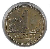*brazil 1 Cruzerio 1945  Km 558   Vf - Brésil