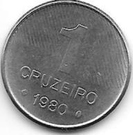 *brazil 1 Cruzerio 1980  Km 590 - Brésil