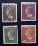 "Curacao 1947, Koningin Wilhelmina, ""Konijnenburg"" - 4 Zegels Postfris - NVPH 178-181 - Curaçao, Nederlandse Antillen, Aruba"